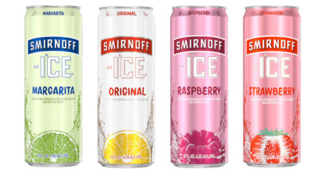 smirnoff ice alcohol percentage