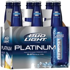 Bud Light Platinum Calories