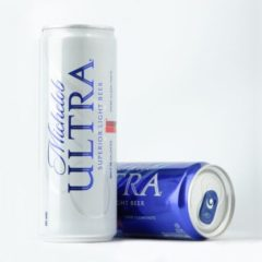 carbs in michelob ultra
