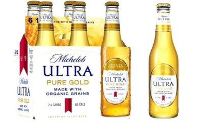 michelob ultra pure gold abv