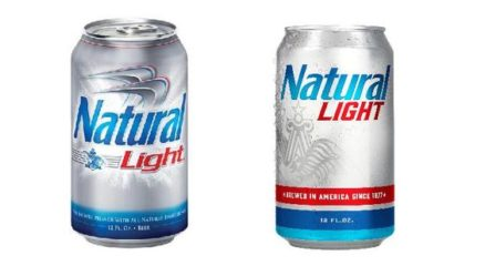 natural light alcohol content