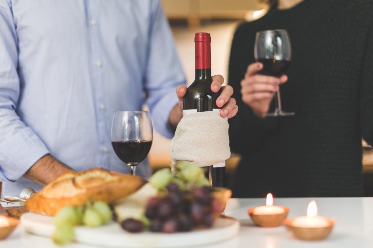 what is the typical alcohol content of wine