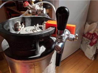 how many beers are in a keg