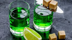 Absinthe-The Bright Green Colored Spirit