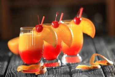 Tequila Sunrise, The Cocktail Treasure of California