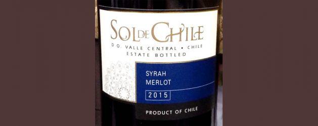 SOL DE CHILE SYRAH MERLOT