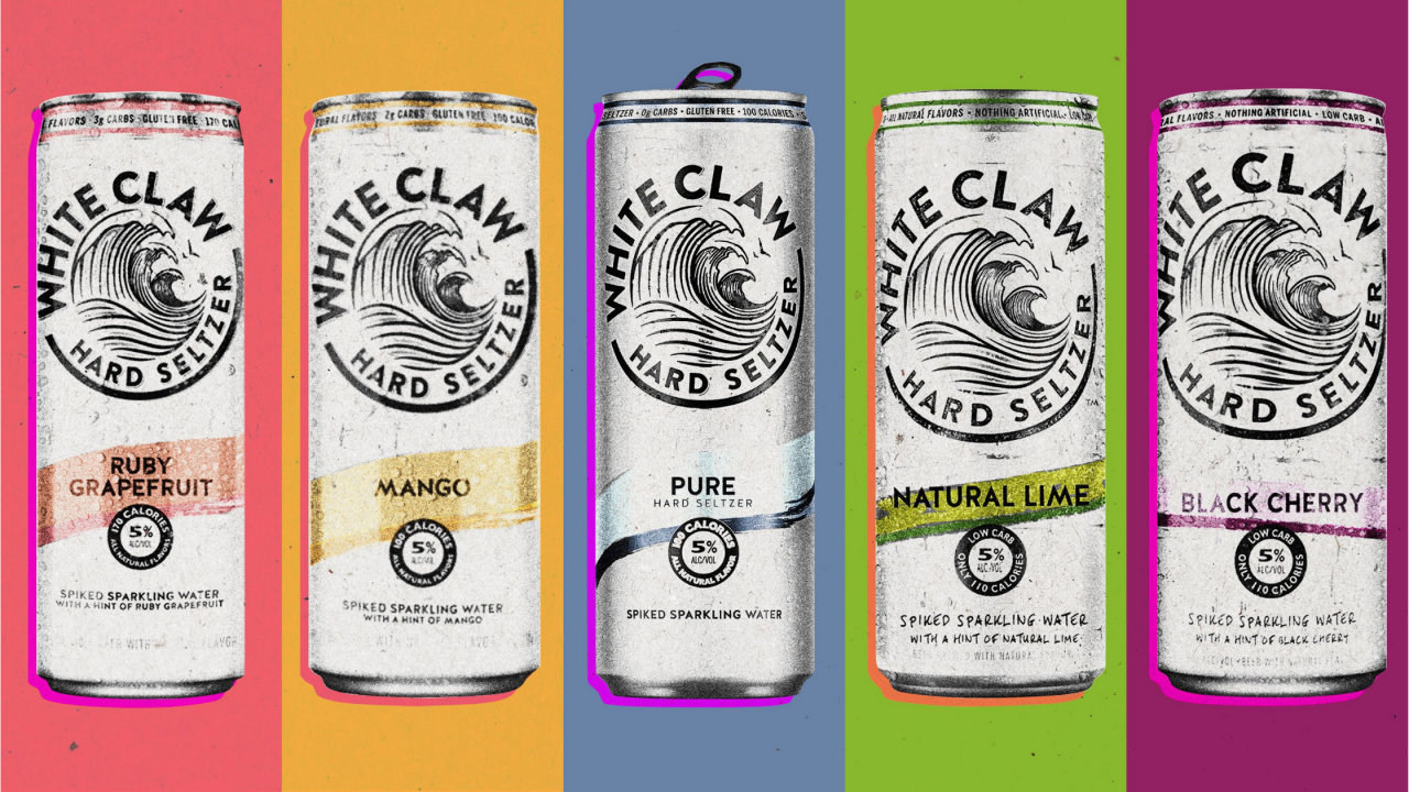 White Claw alcohol content